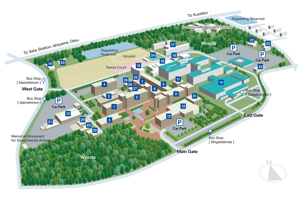 Image: Campus Map