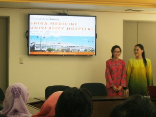 UKM Students at the presentation session