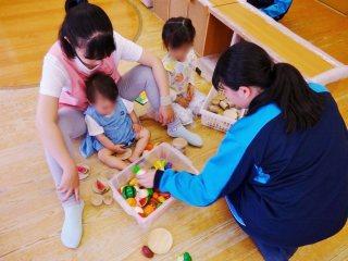 大津市立青山中学校の職場体験学習を受け入れました。   滋賀医科大学